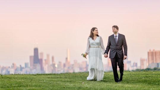 Chicago engagement elopement photographer